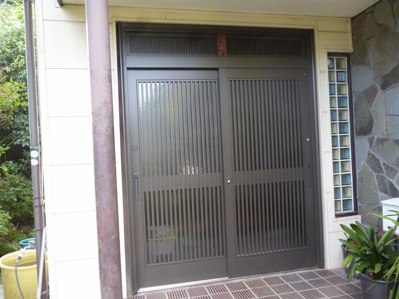 【玄関ドア取替リフォーム工事】 大府市 K様邸