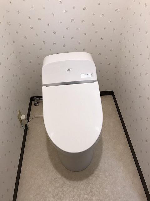 【トイレ・洗面台取替えリフォーム工事】 南知多町 S様邸 2017/10/11