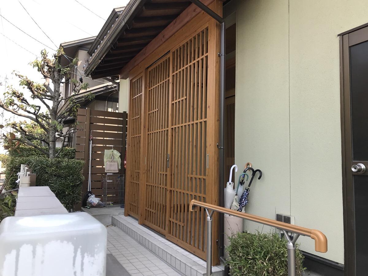 【外ドア取付工事】東浦町 Y様邸 2018年3月25日