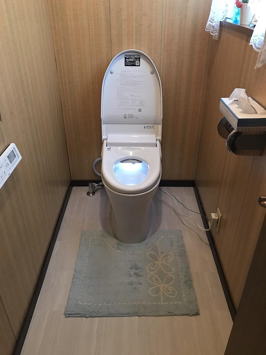 【トイレ改修工事】東海市 K様邸 2018年5月11日