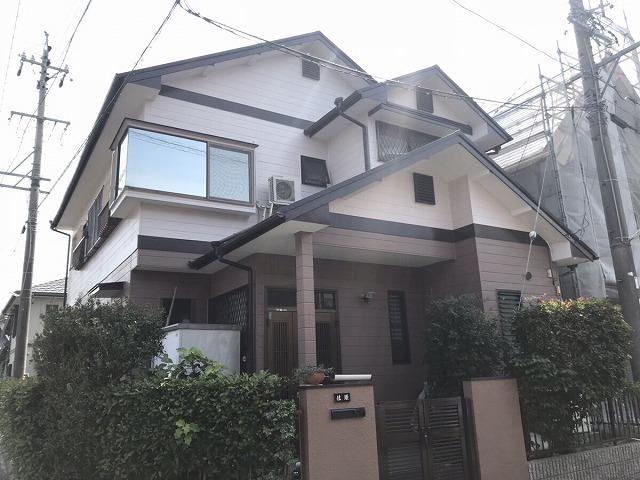 【外壁塗装工事】 武豊町 S様邸 2018年7月4日