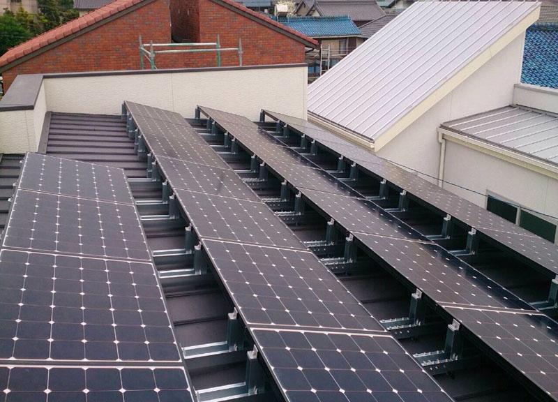 過去の太陽光発電システム施工事例