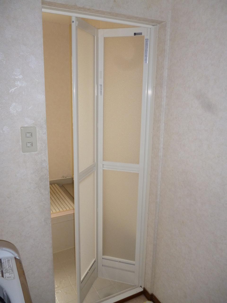 【浴室ドア取替事例】 大府市 H様邸