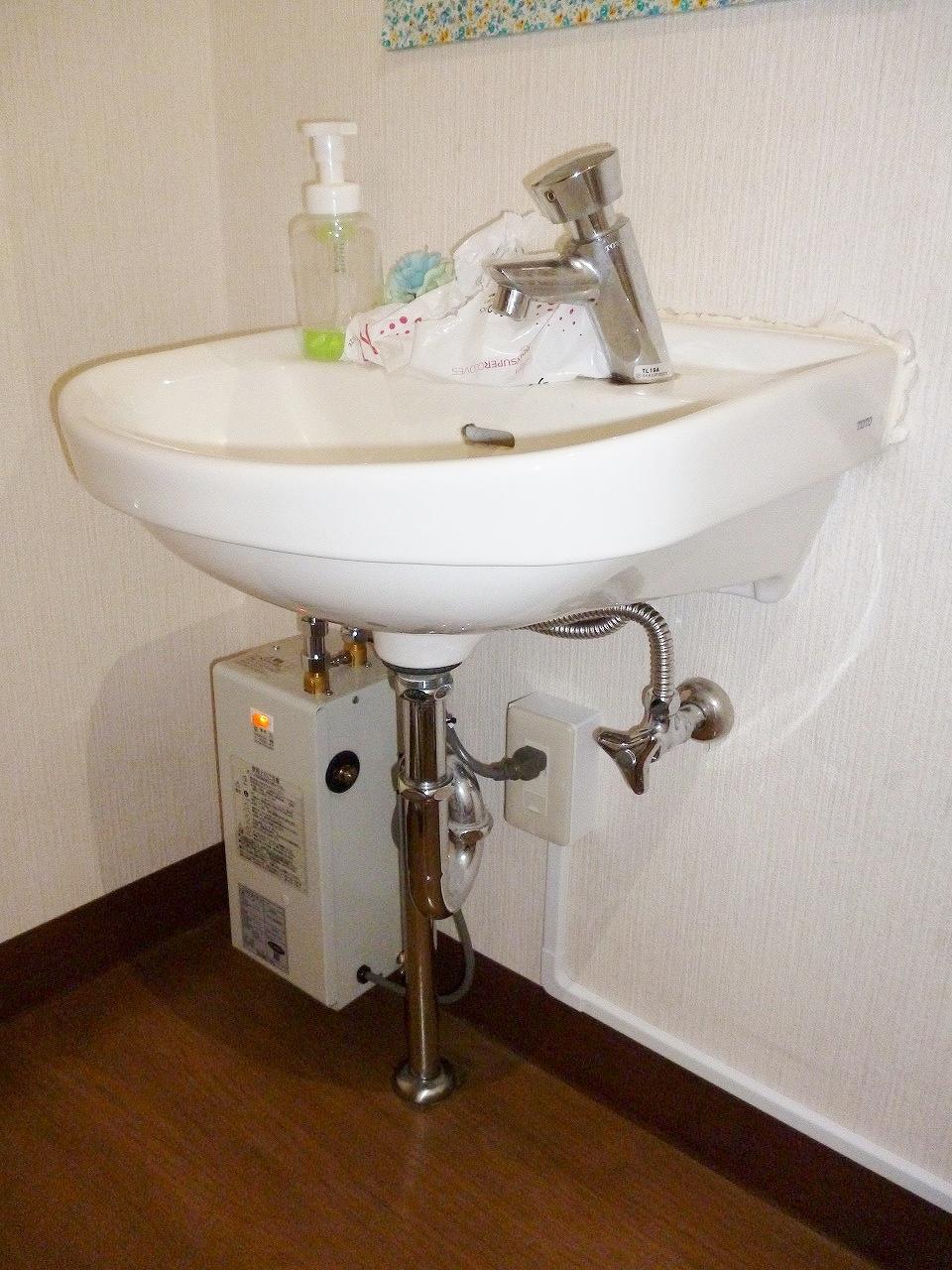 【小型温水器取付事例】 常滑市 S様邸