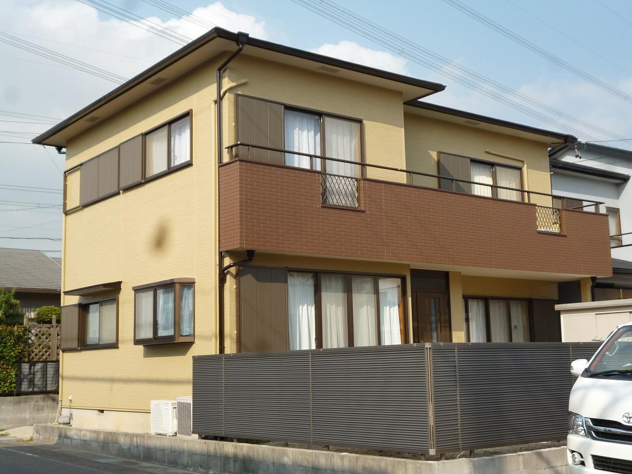 【外壁塗装・フェンス取替え事例】 東浦町 M様邸