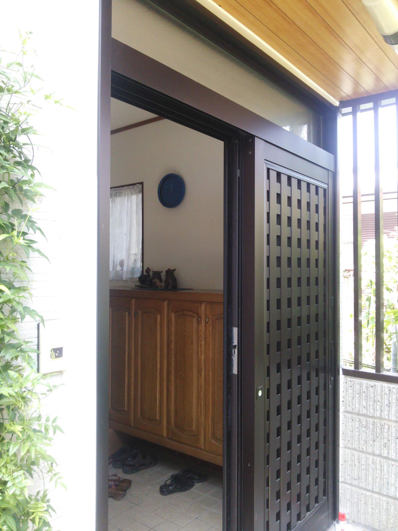 【玄関ドア取替事例】 半田市 S様邸