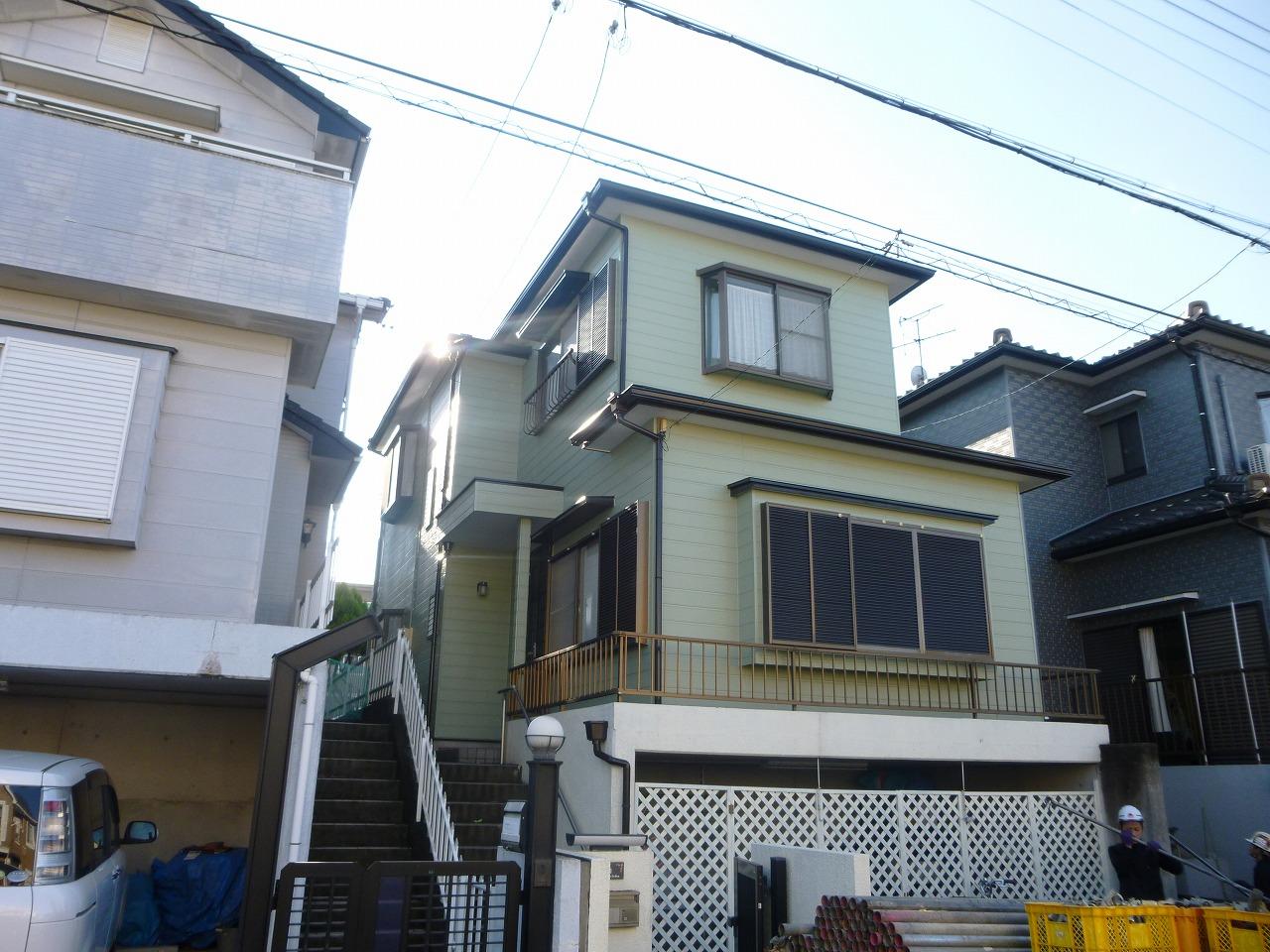 【外壁・屋根塗装リフォーム工事】 知多市 M様邸