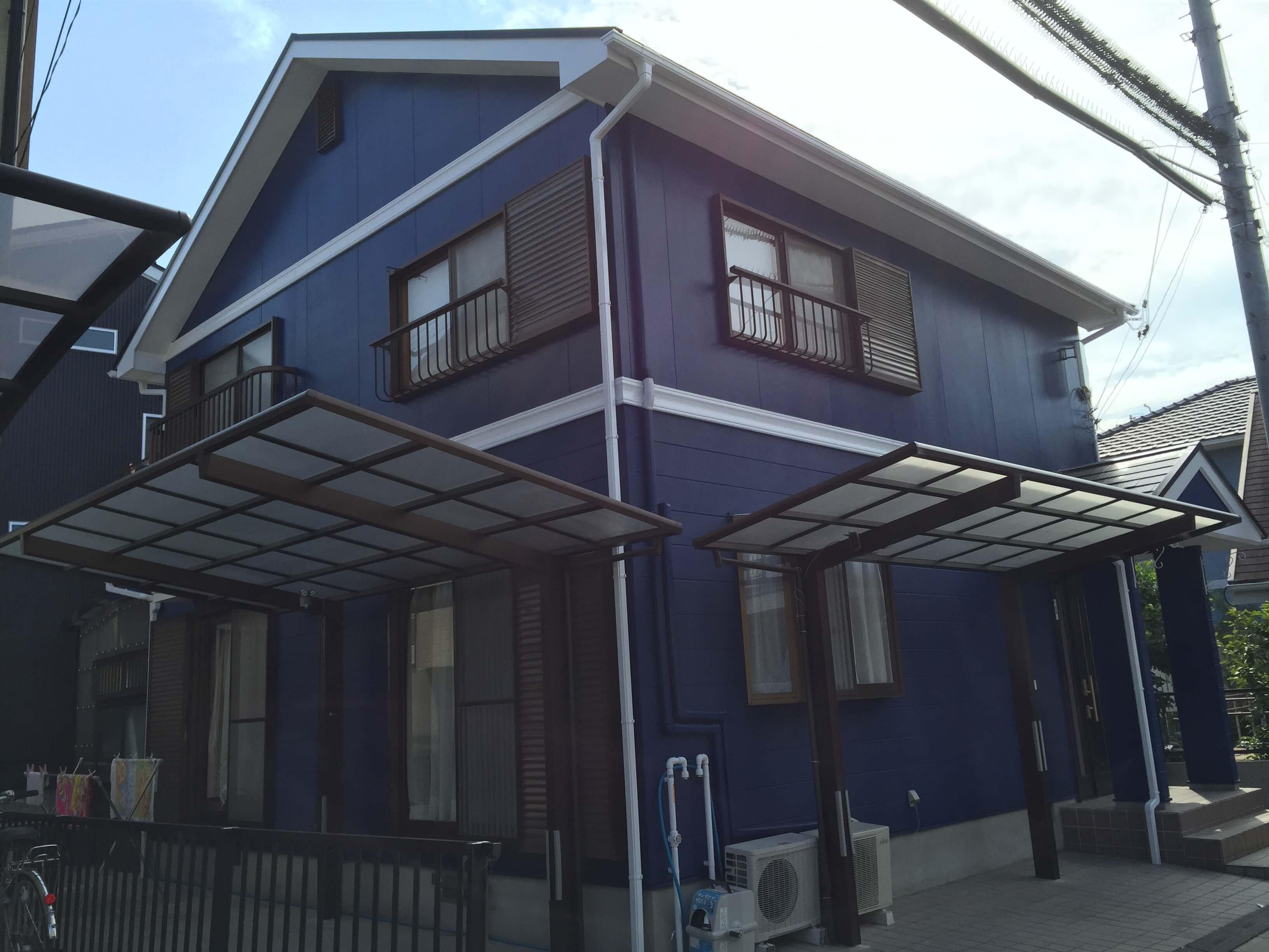 【外壁・屋根塗装リフォーム工事】 T市 O様邸