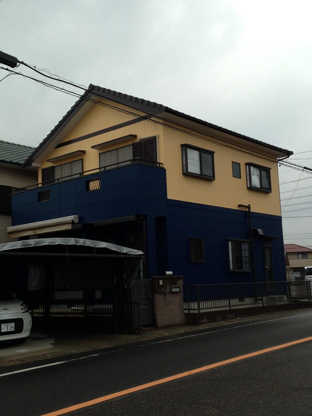 【外壁塗装リフォーム工事】 半田市 M様邸