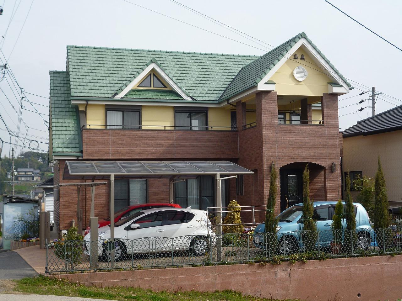 【外壁塗装リフォーム事例】 阿久比町 Y様邸
