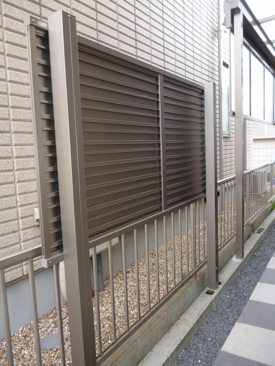 【テラス・フェンス取付けリフォーム工事】 東海市 H様邸