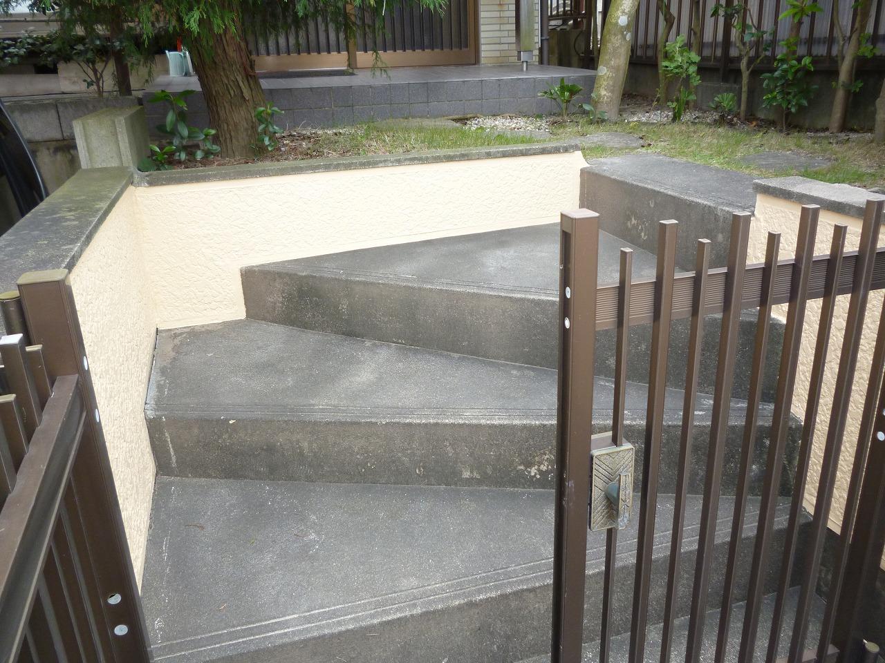 【擁壁塗装リフォーム工事】 知多市 N様邸