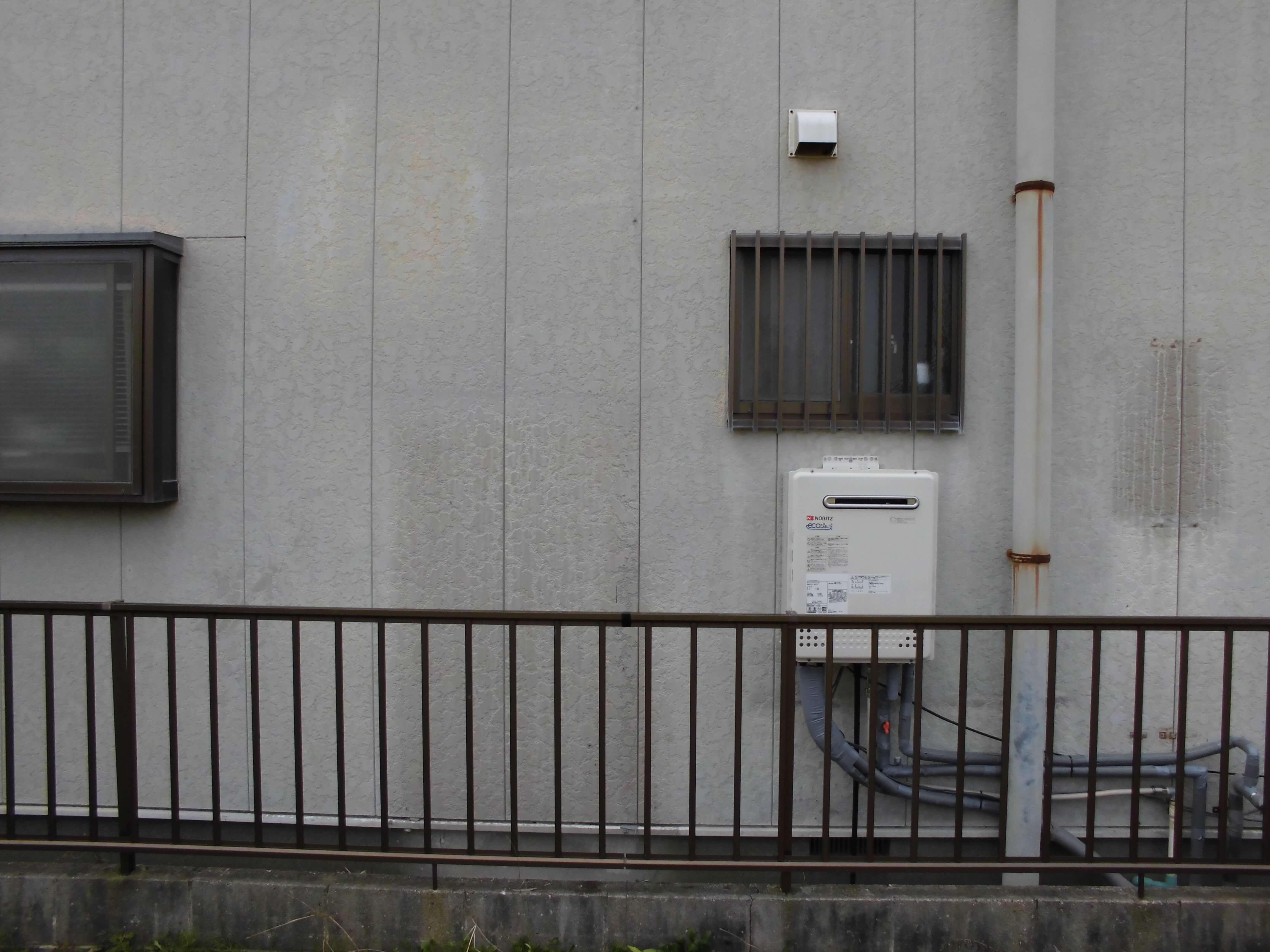 【給湯器取替・太陽熱温水器撤去リフォーム工事】 美浜町 E様邸