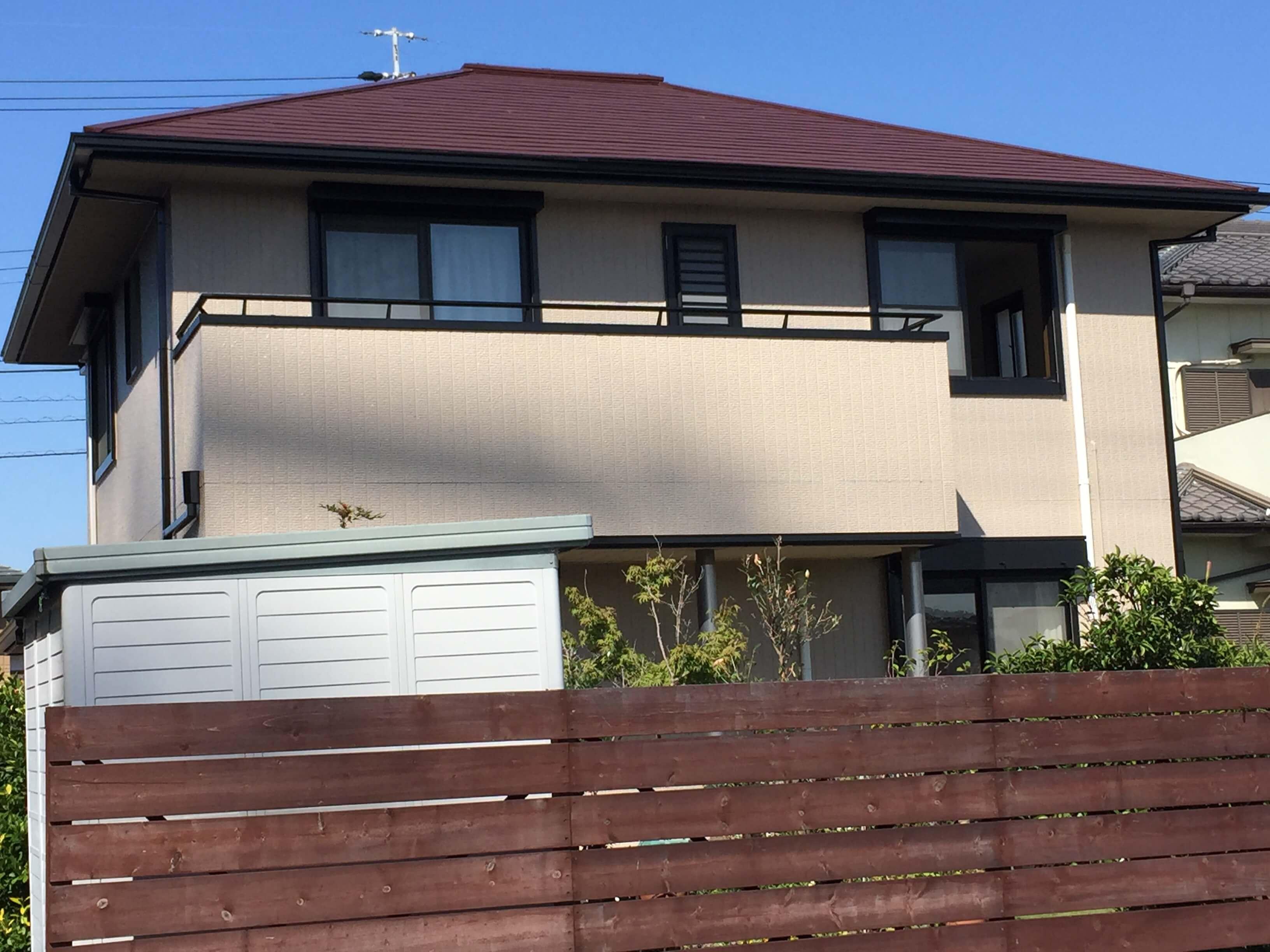 【屋根・外壁塗装リフォーム工事】 阿久比町 K様邸