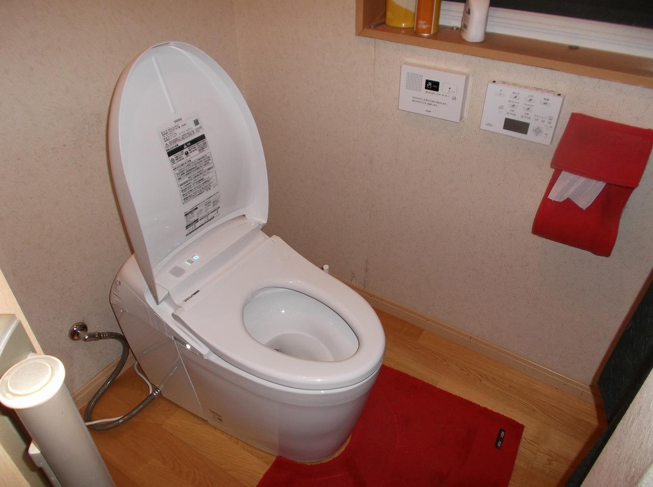 【トイレ取替えリフォーム工事】 知多市 T様邸