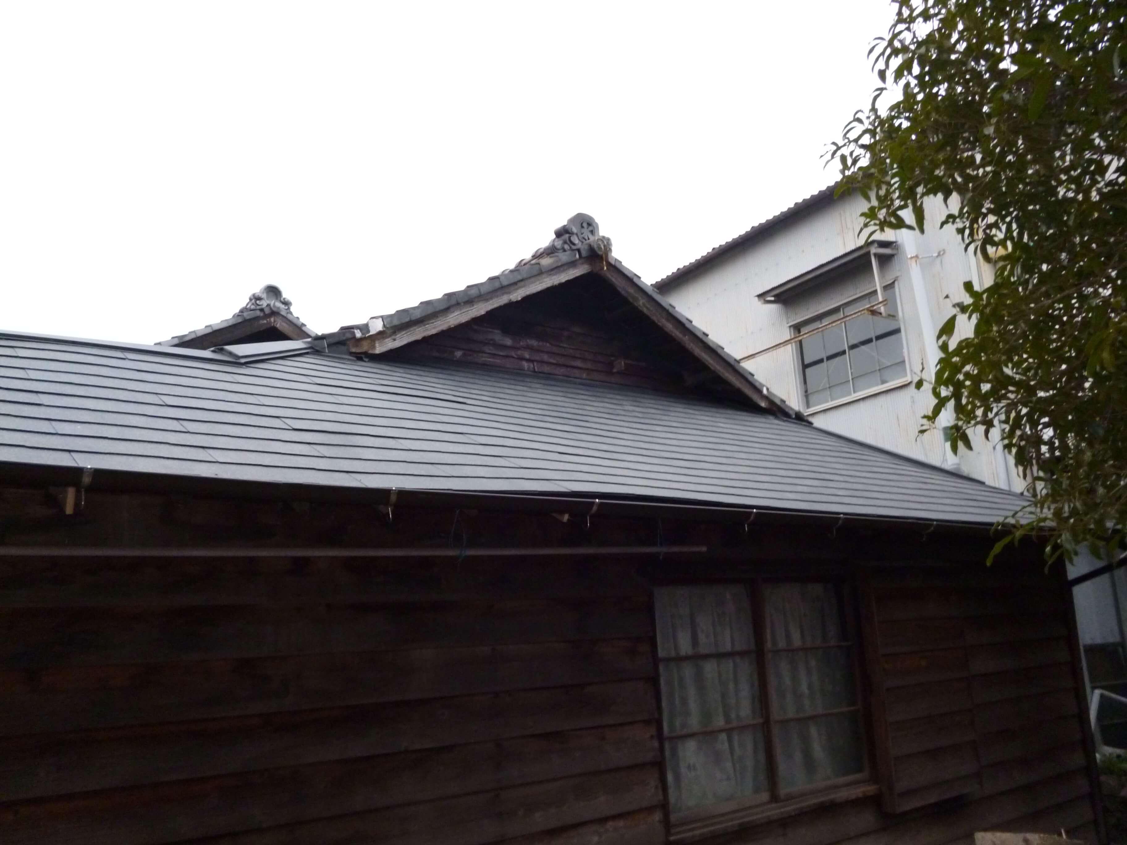 【屋根リフォーム工事】 東浦町 T様邸