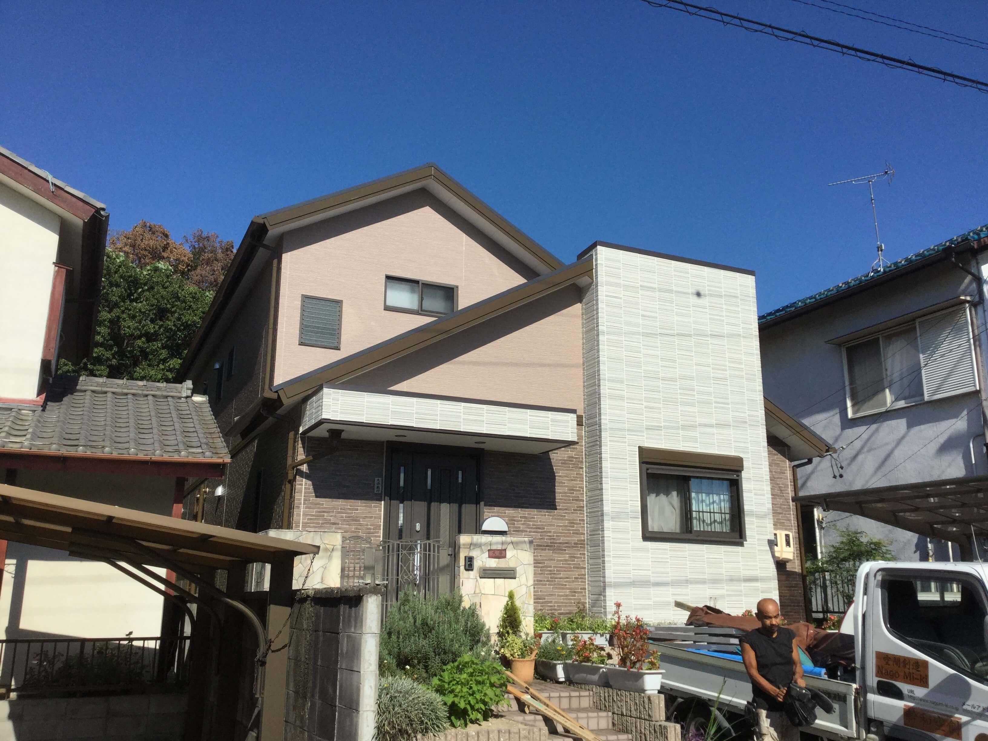 【外壁リフォーム工事】 東海市 K様邸
