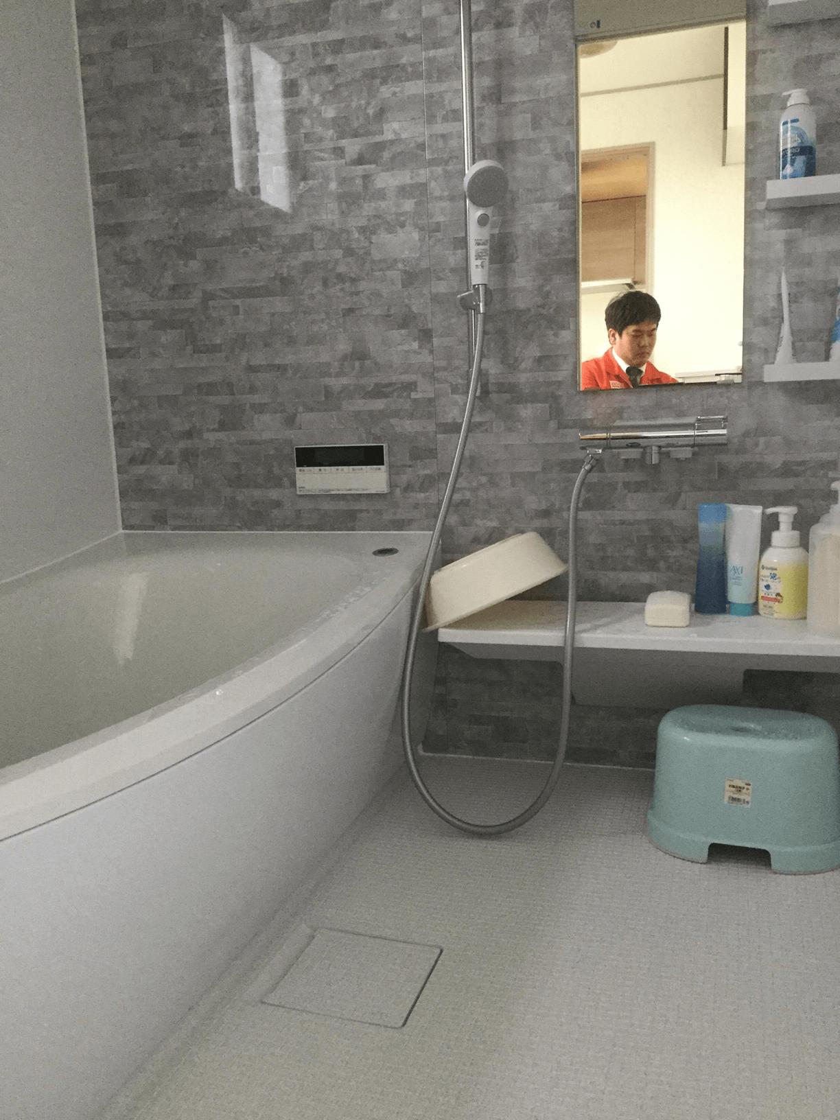 【浴室リフォーム工事】 常滑市 M様邸 2016年10月31日