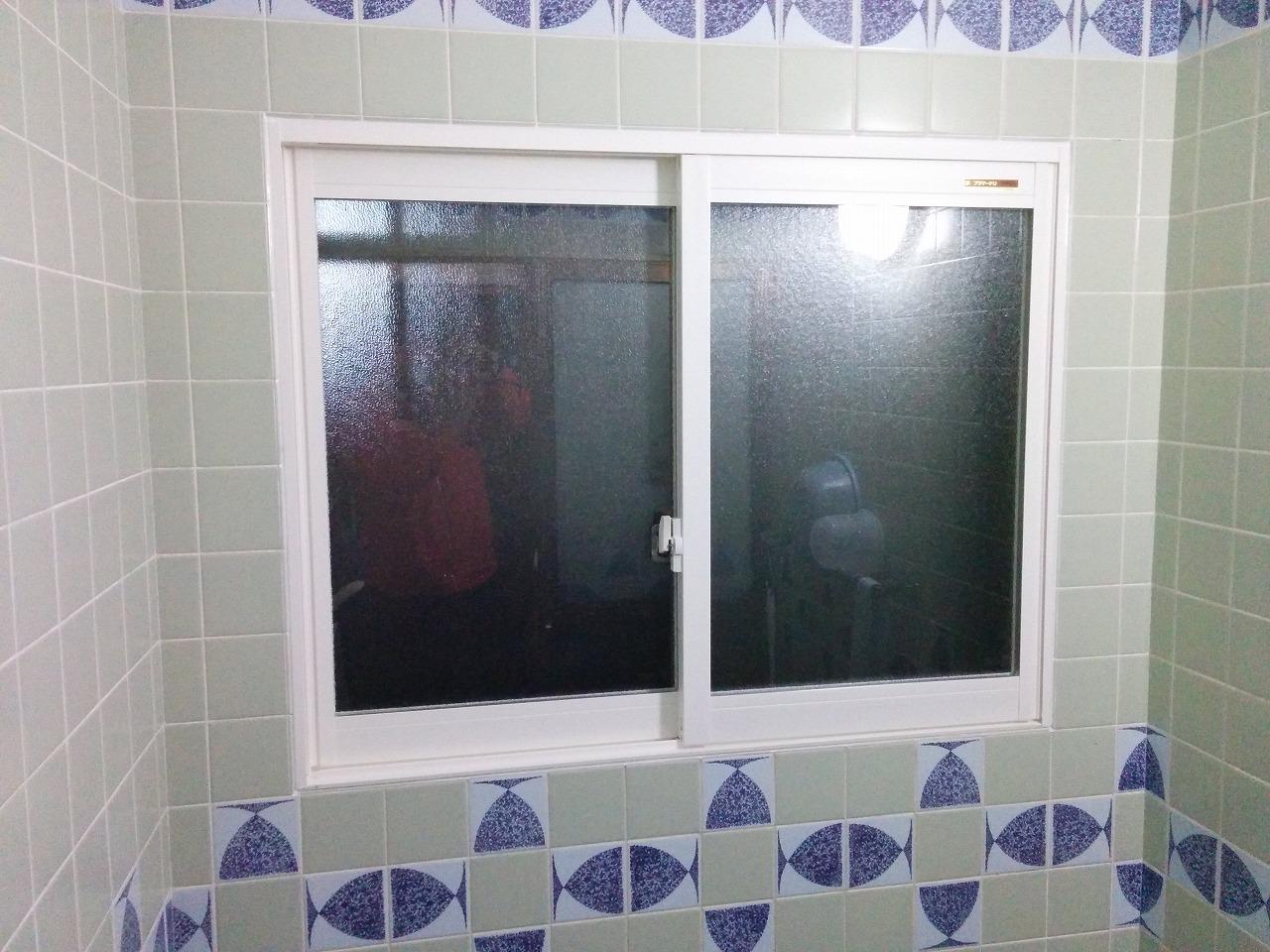 【浴室内窓交換工事】 常滑市 I様邸 2016年12月6日