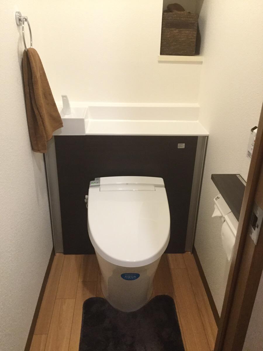 【トイレ改修工事】 大府市 T様邸 2016年12月24日