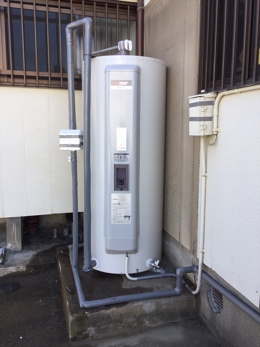 【電気温水器取替え工事】美浜町 O様邸 2017年12月20日