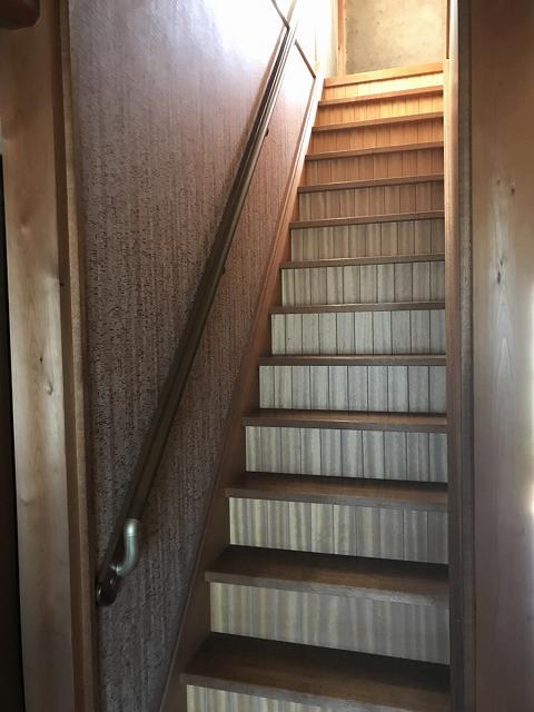 【階段手すり取付工事】美浜町 M様邸 2018年3月6日