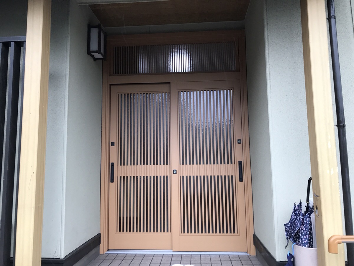 【玄関ドア取付工事】東浦町 Y様邸 2018年3月5日
