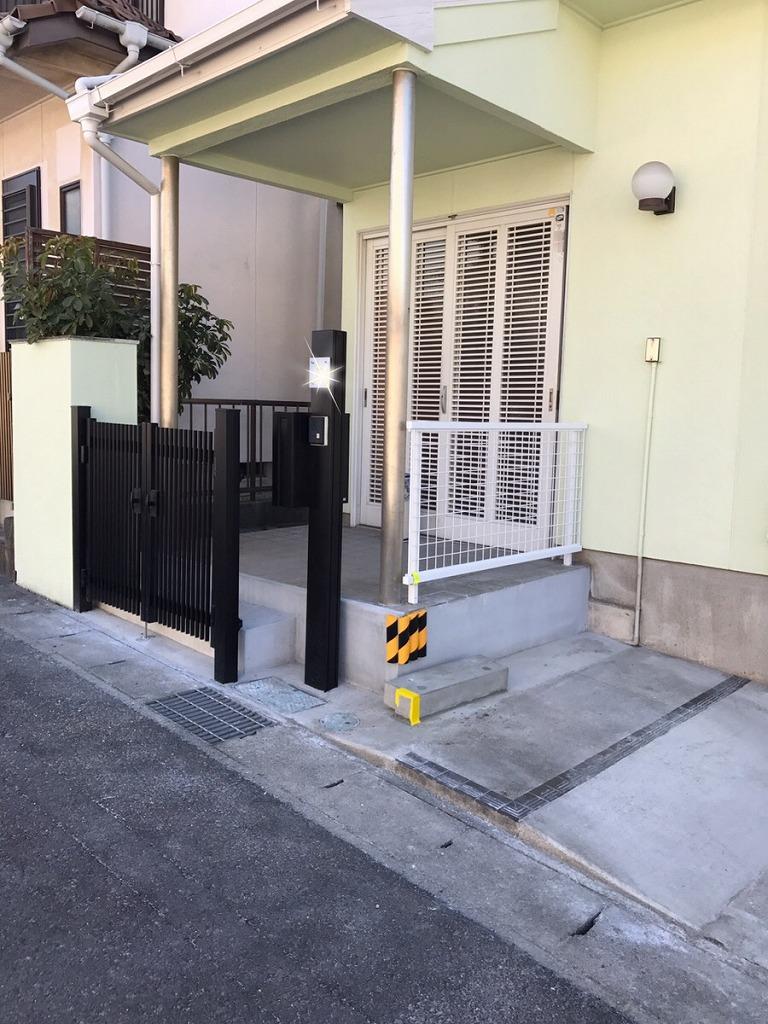 【駐車場改修工事】  知多市    O様邸    2018年2月3日