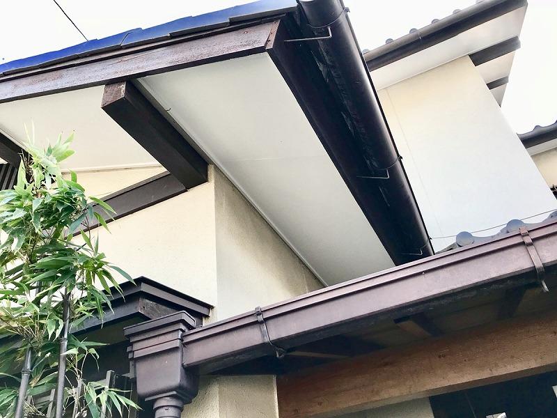【軒裏張替工事】知多市 I様邸 2018年11月6日