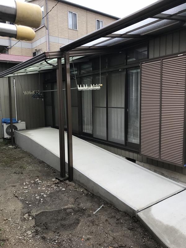【外構工事】知多市 S様邸 2018年10月11日