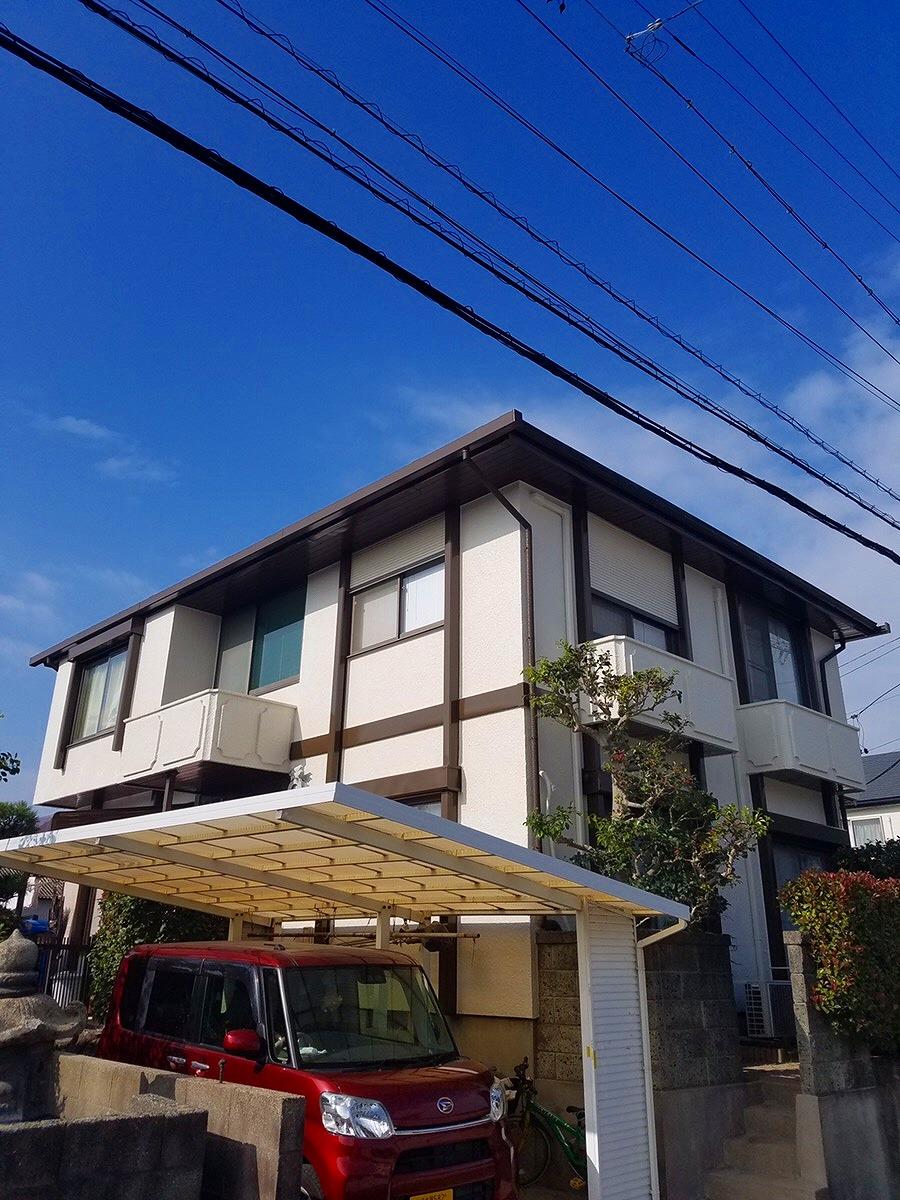 【外壁塗装・屋根鈑金張り工事】常滑市 S様邸 2018年11月24日