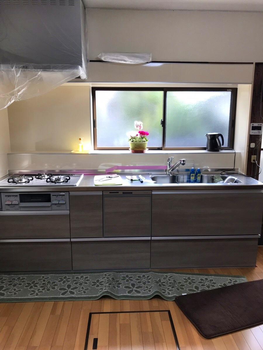 【キッチン改修工事】南知多町 O様邸 2018年11月27日