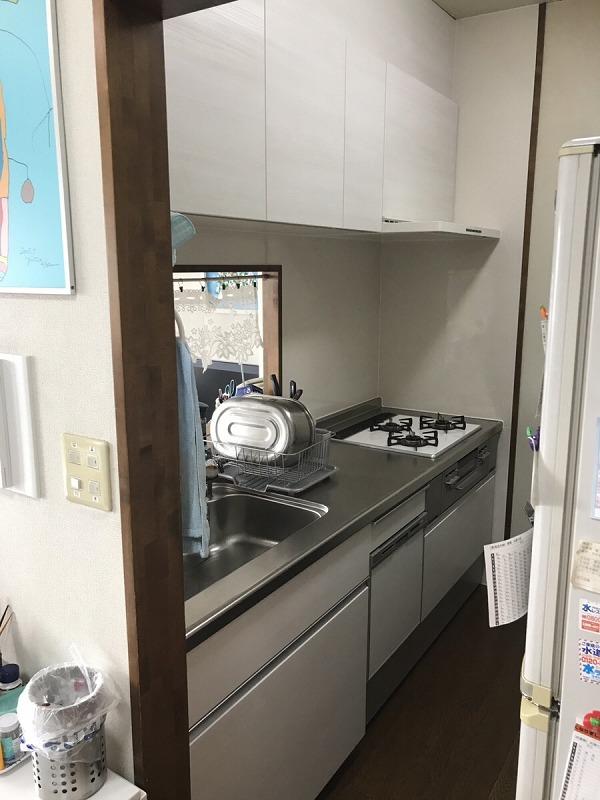【キッチン改修工事】K様 大府市 2019年4月6日