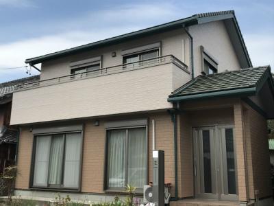 【外壁塗装工事】 常滑市 T様邸 2019年3月23日